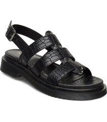 chellabae shoes summer shoes flat sandals svart aldo