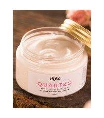 amaro feminino relax esfoliante facial hidratante quartzo, neutra