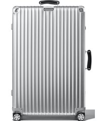 men's rimowa classic 3 check-in large 31-inch wheeled suitcase -