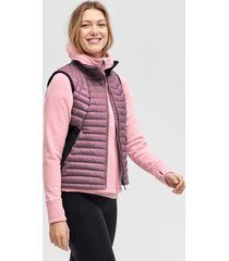 dunväst down vest light w stretch r