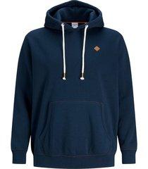 jack & jones hoodie donkerblauw plus size