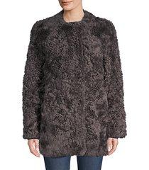 lamb fur coat