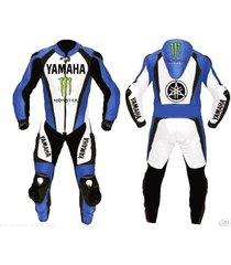 men multicolor motorcycle racing leather suit jacket hump pants for yamaha