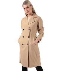 womens emilia long trench coat