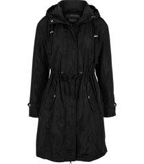giacca ampia con cappuccio e imbottitura leggera (nero) - bpc bonprix collection