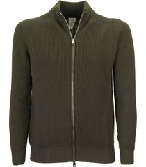 tagliatore cardigan with front zip