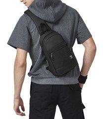 cassa impermeabile patchwork multifunzionale per uomini sport borsa