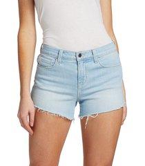 l'agence women's audrey mid-rise denim shorts - belmond - size 23 (00)