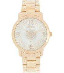relógio condor co2036cn/4x dourado