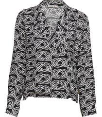 fluky p blouse lange mouwen zwart tiger of sweden jeans