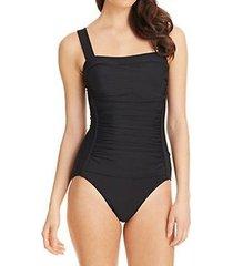 inc international concepts one piece sz 16w black swimsuit swimwear 470902w