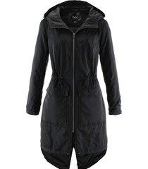 giubbotto outdoor leggero con cappuccio (nero) - bpc bonprix collection