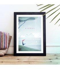 sydney - vintage plakat 50x70 cm
