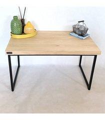 drewniany stolik kawowy loft muccio