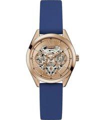 reloj guess clear cut gw0284l1 - oro rosa