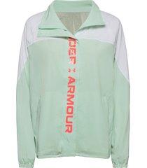 recover woven cb jacket outerwear sport jackets groen under armour