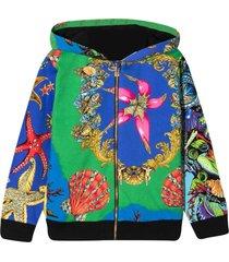 versace young multicolor sweatshirt