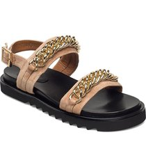 sandals 2754 shoes summer shoes flat sandals svart billi bi