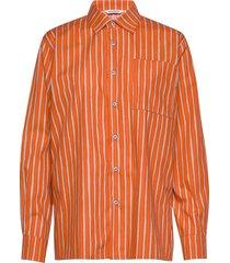 jokapoika 2017 overhemd met lange mouwen oranje marimekko