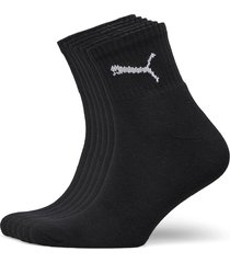 puma short crew 6p unisex ecom underwear socks regular socks svart puma