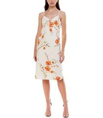 b darlin juniors' floral-print sheath dress