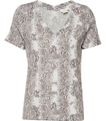 dallas t-shirt p blouses short-sleeved multi/mönstrad notes du nord
