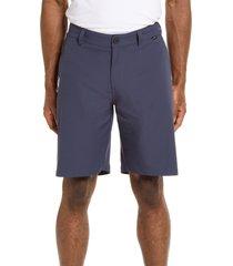 men's travismathew starnes stretch performance shorts, size 30 - blue