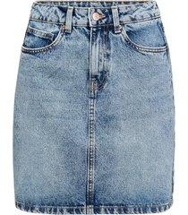 jeanskjol vmkathy hr short denim skirt