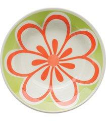 conjunto de 6 pratos fundos 21cm donna euforia - multicolorido - dafiti