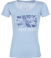 t-shirt korte mouw pepe jeans aliyah