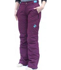 pantalón mujer kunk impermeable púrpura haka honu