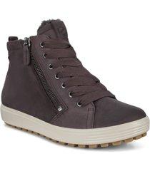 ecco women's soft 7 tred gore-tex waterproof booties women's shoes