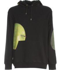 paul smith hooded sweatshirt big apple print