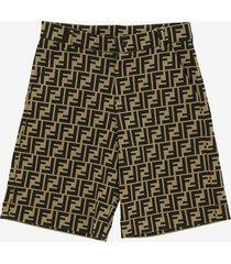 fendi ff bermuda shorts