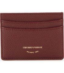 emporio armani women's card holder - grape