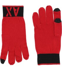 armani exchange gloves