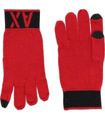 armani exchange gloves