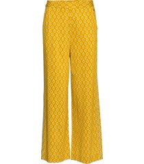 nuailani pants byxa med raka ben beige nümph