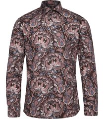bold paisley print shirt overhemd casual multi/patroon eton