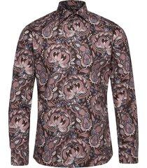 bold paisley print shirt overhemd casual blauw eton