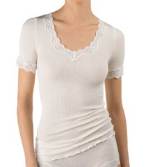 calida richesse lace short-sleeve top * gratis verzending *