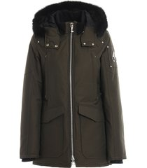 fire river padded coat