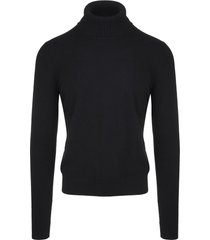 black man turtleneck pullover