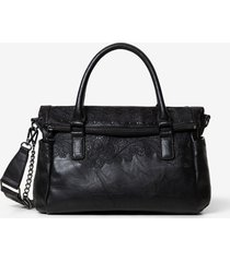 multiposition bag briefcase - black - u