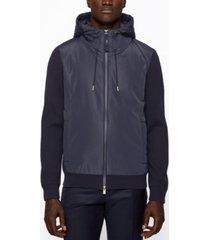 boss men's hybrid regular-fit jacket