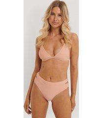 nadine x na-kd bikiniunderdel med dubbla band - pink