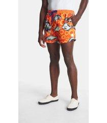 fish swimsuit - orange - xxl