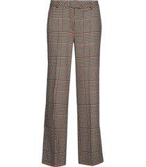 ainine hw trousers pantalon met rechte pijpen bruin second female