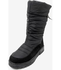 bota impermeable label black chancleta