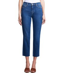 l'agence sada crop slim jeans, size 32 in portland at nordstrom